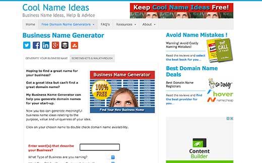 چند ابزار ایده آل تولید نام دامنه خلاقانه که باید امتحان کنید، رایگان + آنلاین - Cool Name Ideas