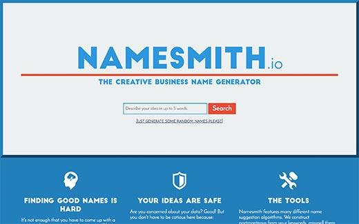چند ابزار ایده آل تولید نام دامنه خلاقانه که باید امتحان کنید، رایگان + آنلاین - NameSmith