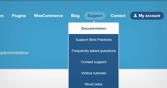 پشتیبانی از مشتریان Woo | کیفیت پشتیبانی از مشتری