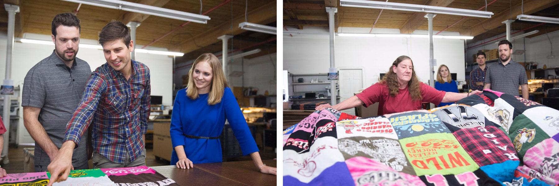 2 – 3 تصویر از مصاحبه کننده ها همراه تیم آنها