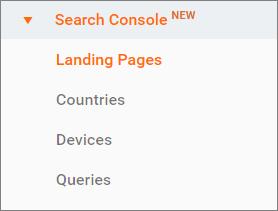 کسب و فراگیری کاربران – Acquisition - دستگاه جستجو – Search Console