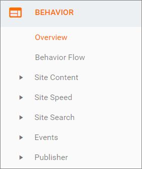 رفتار کاربری – Behavior