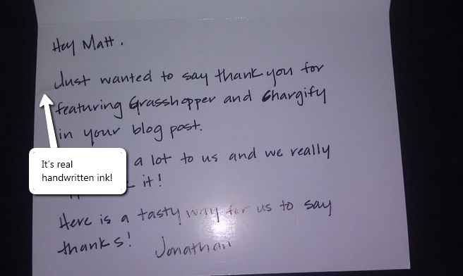 تصویر نامه – توجه به مشتری