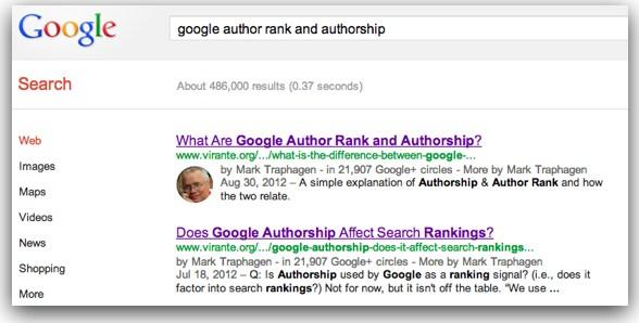 بروز رسانی Google Authorship
