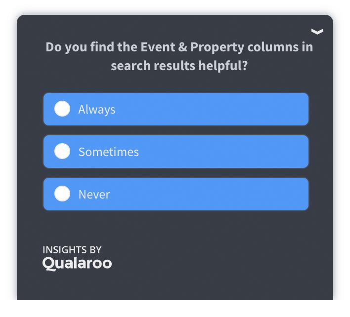 نظرسنجی با Qualaroo