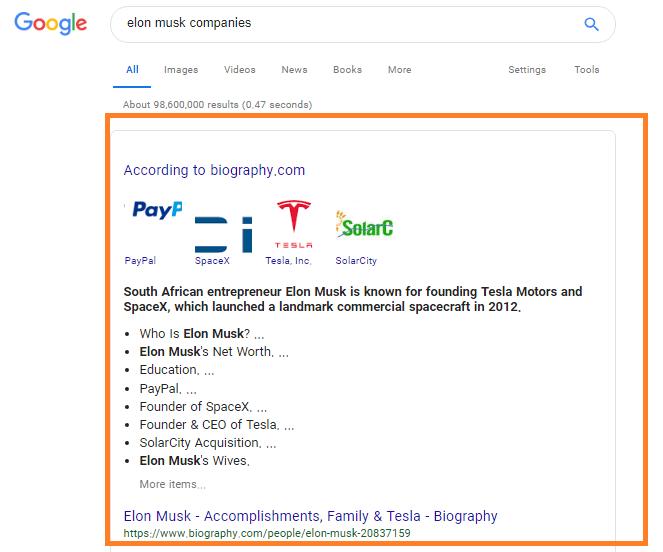 اسنیپت ویژه گوگل