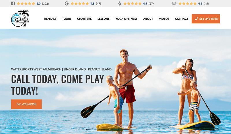 سایت alan water sports