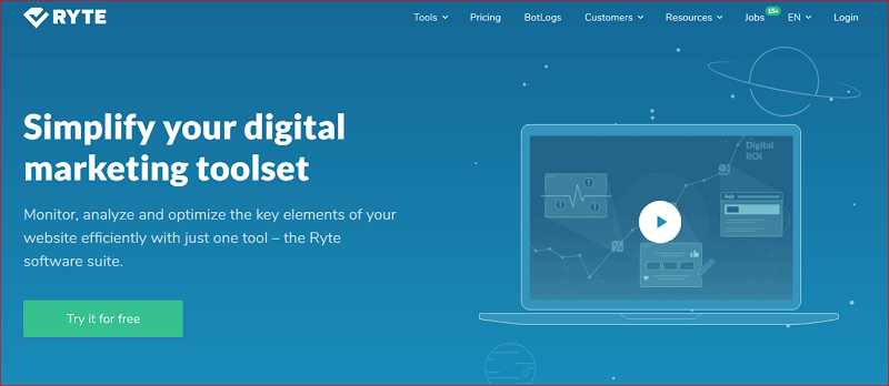 صفحه اصلی وب سایت رایت