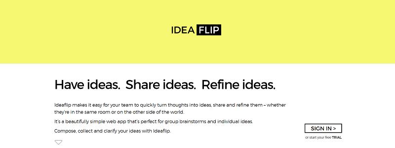 ابزار Ideaflip