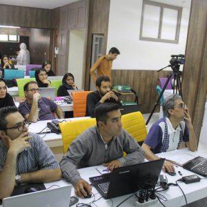 عکس دانشجویان کارگاه سئو مشهد