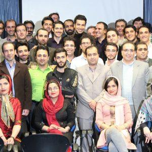 عکس دسته جمعی برگزاری کارگاه سئو تهران