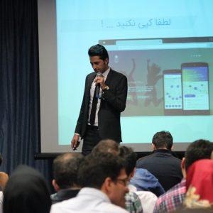 عکس سینا امینزاده مدرس دیجیتال مارکتینگ