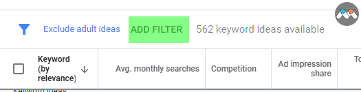 کیورد پلنر- اد فیلتر